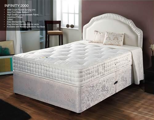 Infinity 2000 pocket sprung mattress-0