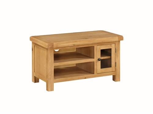 Newbridge Oak small TV unit-0