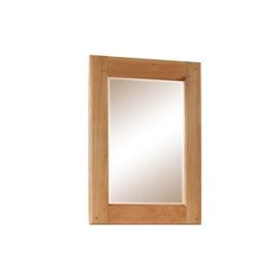 Newbbridge Oak wall mirror-0