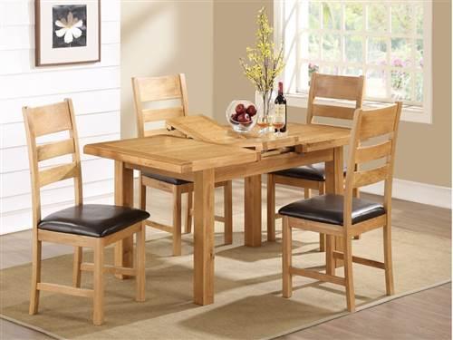 Newbridge Oak small dining set-0