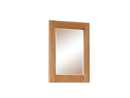 Newbridge Oak wall mirror-0
