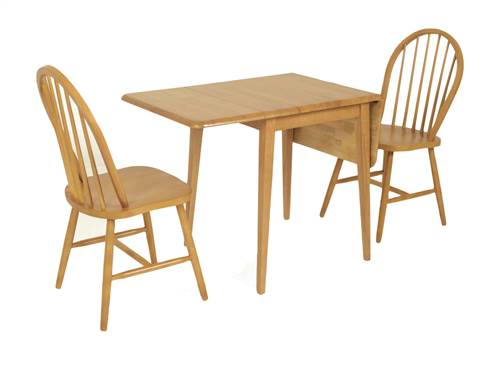 Country kitchen drop leaf dining set-0