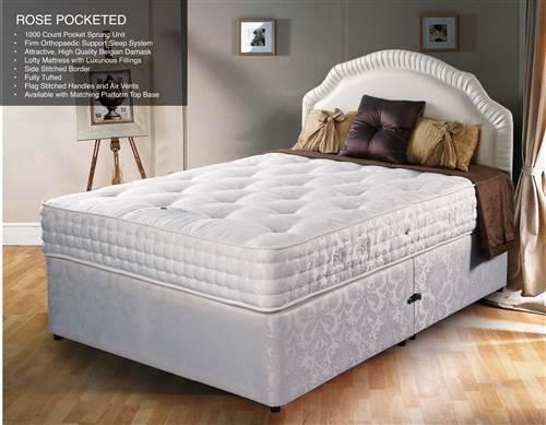 Rose' 1000 pocket sprung mattress-0