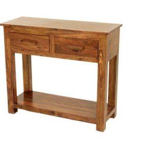 Sheesham console table-0