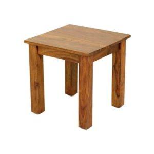 Sheesham end table-0