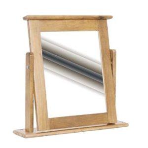 Pine dressing table mirror-0