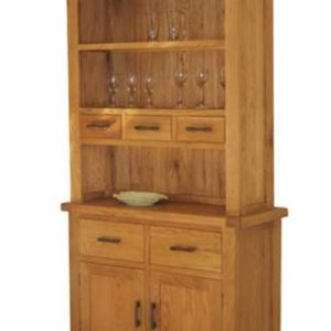 Hampshire oak small buffet unit-0