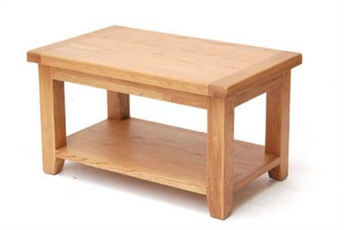 Hampshire oak large coffee table-0