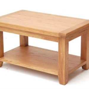 Hampshire oak small coffee table-0