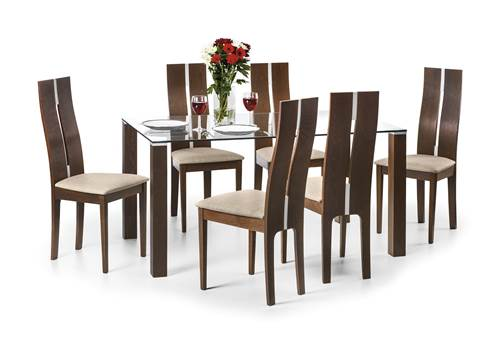 Cayman glass dining set-0