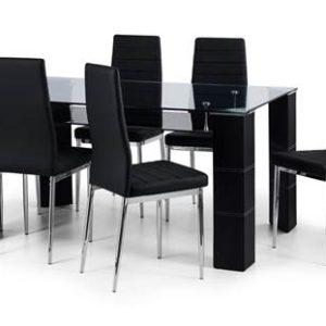 Greenwich glass dining set-0