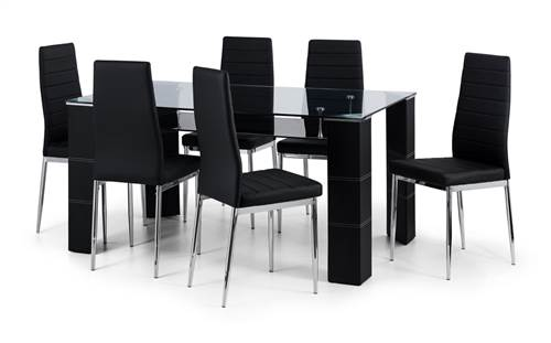Greenwich glass dining set-0