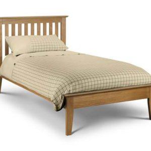 Salerno 3' oak bedframe-0