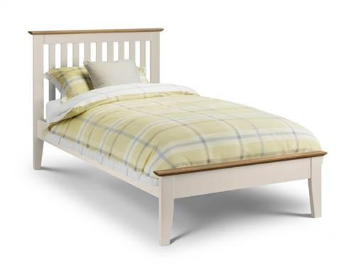 Salerno two tone 3' bedframe-0
