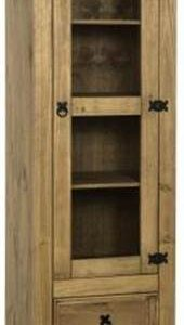 Corona 1 door 2 drawer display unit-0