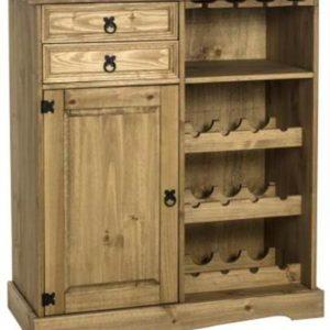 Corona sideboard & wine rack unit-0