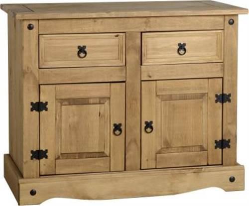 Corona 2 door 2 drawer sideboard-0