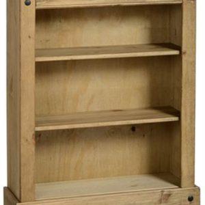 Corona pine low bookcase-0