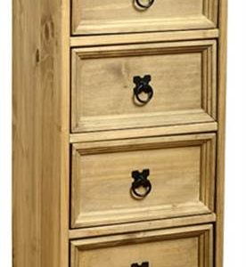 Corona 4 drawer CD chest-0