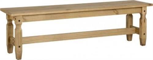 Corona pine large bench-0