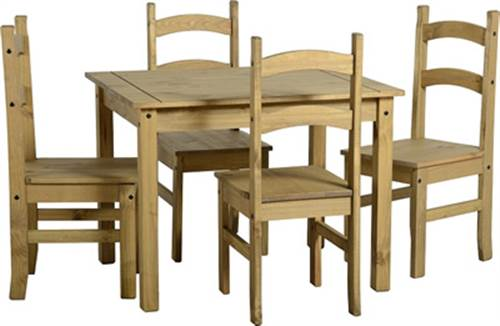 Mexican pine dining set-0