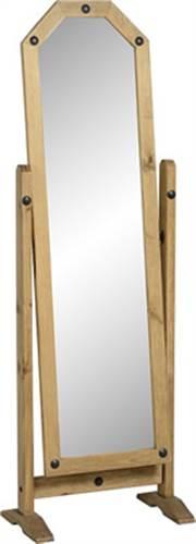 Corona pine cheval mirror-0