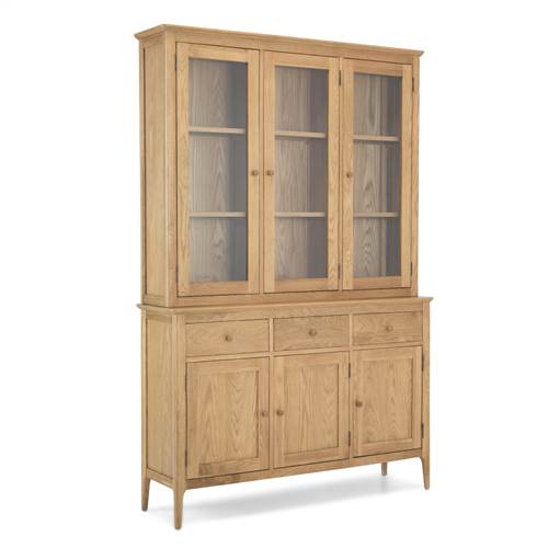 Retro oak large dresser-0