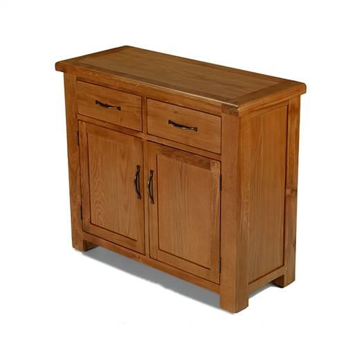Earlswood oak standard sideboard-0