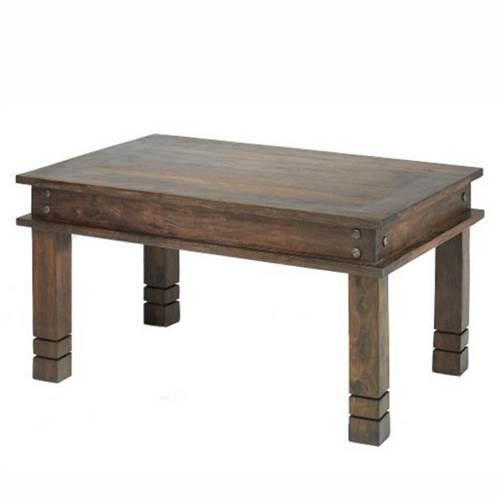 jali chunky dining table-0