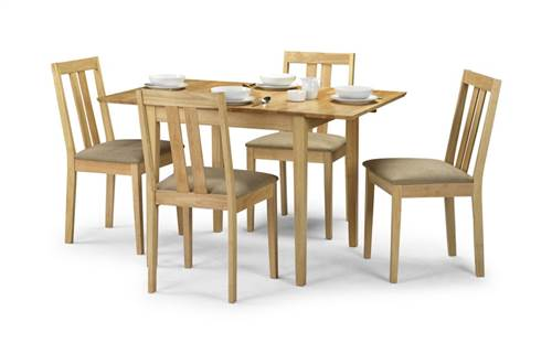 Ruffles extending dining set-0
