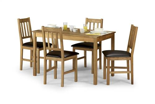 Coxmoor Oak rectangular dining set-0