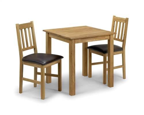 Coxmoor Oak square dining set-0