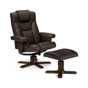Malaga swivel and recline chair -0