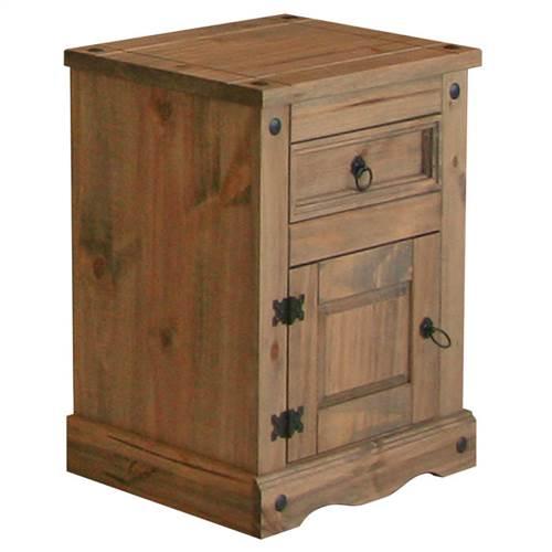 Corona Deluxe 1 door 1 drawer bedside-0