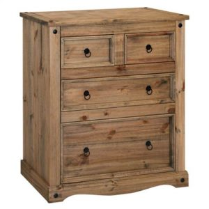 Corona Deluxe 2 + 2 drawer chest-0