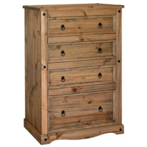 Corona Deluxe 4 drawer deep chest-0