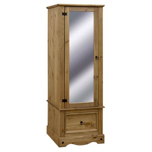 Corona Deluxe armoire with mirrored door-0