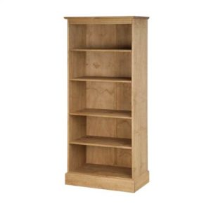 Cotswold Pine tall bookcase-0