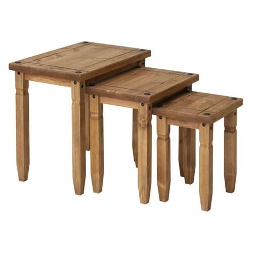 Corona Deluxe nest of 3 tables-0