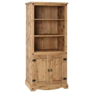 Corona Deluxe 2 door bookcase-0