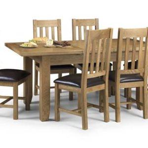 Astro oak extending dining set-0