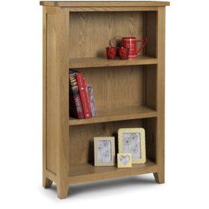 Astro oak low bookcase-0