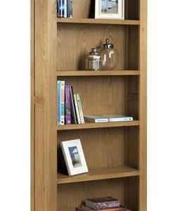 Astro oak tall bookcase-0