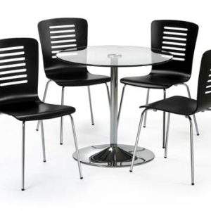 Kudos glass dining set-0