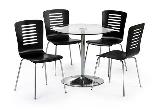 Kudos glass dining set-0