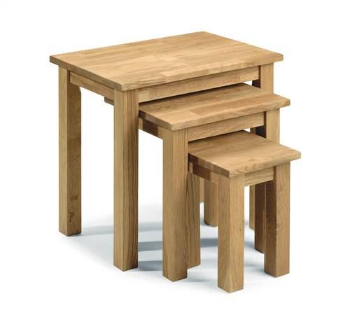 Coxmoor Oak nest of 3 tables-0