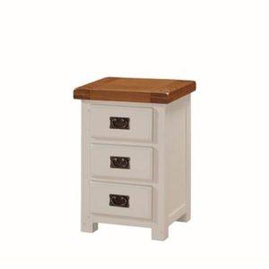 Heritage Oak painted bedside table-0