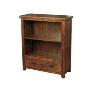 Roscrea low bookcase with drawer-0