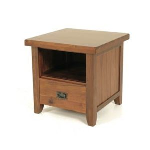 Roscrea end table with drawer-0
