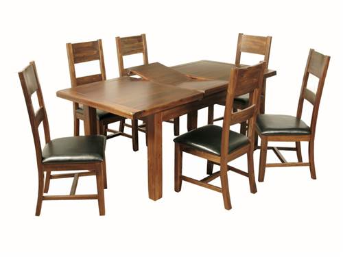 Roscrea XL' extending dining set-0